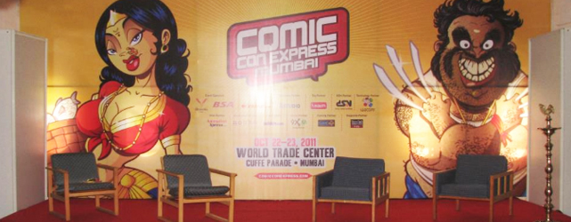 ComicCon Express in Mumbai