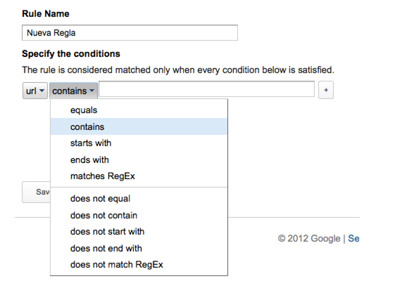Add Rules - Google Tag Manager