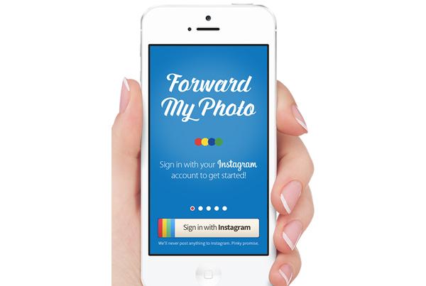 Forward my Photo